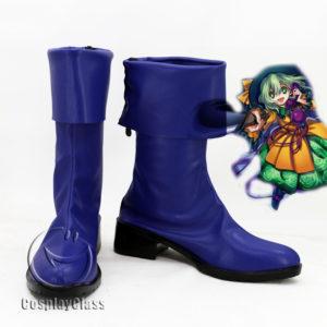 cw11767 TouHou Project Komeiji Koishi Cosplay Boots (1)