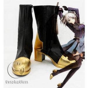 cw11787 God Eater 2 Ciel Alencon Shieru Aranson Cosplay Shoes (1)