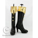 cw11793 Atelier Totori The Adventurer of Arland Rororina Fryxell Cosplay Boots (2)