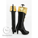 cw11793 Atelier Totori The Adventurer of Arland Rororina Fryxell Cosplay Boots (3)