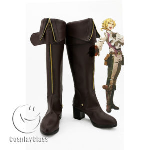 cw11813 God Eater Emil von Strasbourg Cosplay Boots (1)