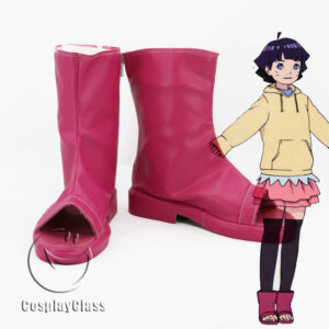 cw11826 BORUTO NARUTO NEXT GENERATIONS Uzumaki Himawari Hima Cosplay Shoes (1)