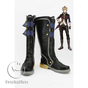 cw11835 God Eater 2 Julius Visconti Cosplay Boots (1)