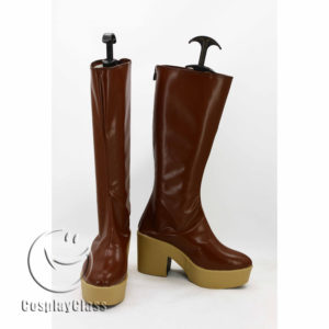 cw11881 Fairy Tail Lucy Heartfilia Cosplay Boots (1)