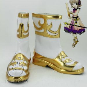 cw11899 TouHou Project Toyosatomimi no Miko Cosplay Shoes (1)
