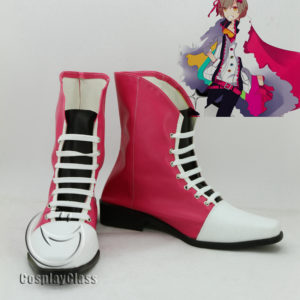 cw11939 VOCALOID 2 Kagamine Ren Cosplay Shoes (1)