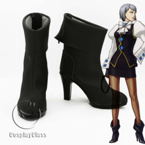 cw11969 Ace Attorney Mei Karuma Franziska von Karma Cosplay Shoes (1)