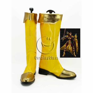 cw12007 League of Legends LOL Leona Cosplay Boots (1)