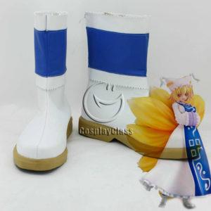 cw12046 TouHou Project Yakumo Ran Cosplay Shoes (1)