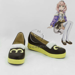 cw12048 Atelier Escha & Logy Alchemists of the Dusk Sky Escha Malier Cosplay Shoes (1)