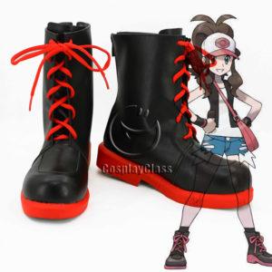 cw12053 Pokémon Black and White Versions Touko Cosplay Shoes (1)