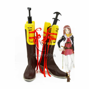 cw12056 Tales of Zestiria Rose Cosplay Boots (1)