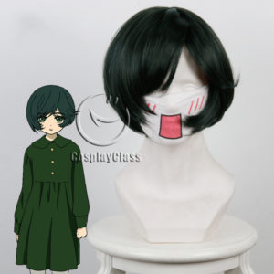 cw12080 Hell Girl Fourth Twilight Michiru Cosplay Wig (1)