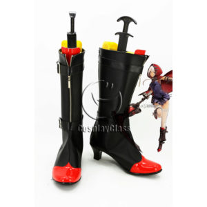 cw12099 GOD EATER 2 RAGE BURST Livie Colette Cosplay Boots (1)