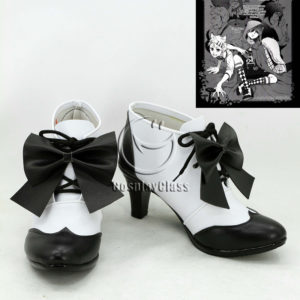 cw12137 Black Butler Ciel Phantomhive Cosplay Shoes (1)