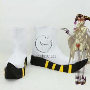 cw12139 Persona 2 Tsumi(Persona 2 Innocent Sin)Joker Cosplay Shoes (1)