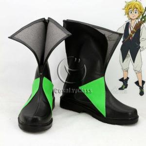 cw12177 The Seven Deadly Sins Nanatsu no Taizai Meliodas Cosplay Shoes (1)