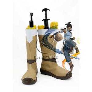 cw12203 Avatar The Last Airbender Korra Cosplay Boots (1)