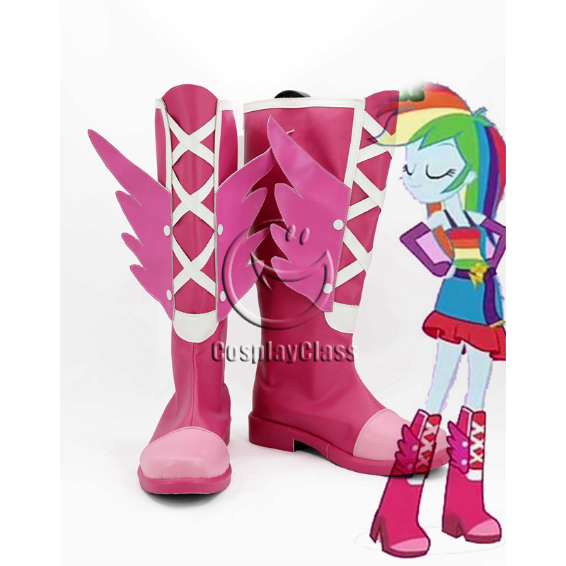 My Little Pony: Equestria Girls Rainbow Dash Cosplay Boots - CosplayClass