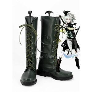 cw12210 TouHou Project Youmu Konpaku Cosplay Boots (1)
