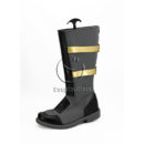 cw12216 God Eater 2 Protagonist Dark Grey Shoes Cosplay Boots (3)
