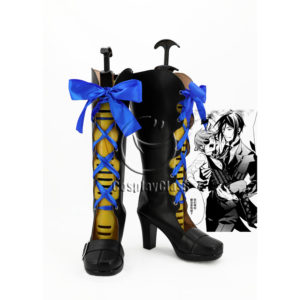 cw12219 Black Butler Book of the Atlantic Ciel Phantomhive Cosplay Boots (1)