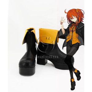 cw12240 Fate Grand Order FGO Masters Female Cosplay Shoes (1)