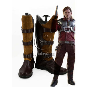 cw12306 Guardians of the Galaxy Star Lord Peter Jason Quill Cosplay Boots (1)