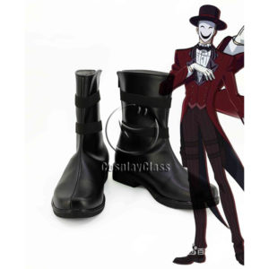 cw12325 Black Bullet Hiruko Kagetane Cosplay Shoes (1)
