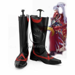 cw12334 Onmyoji Minamoto No Hirumasa Cosplay Boots (1)
