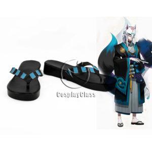 cw12344 Onmyoji Yoko Cosplay Shoes (1)