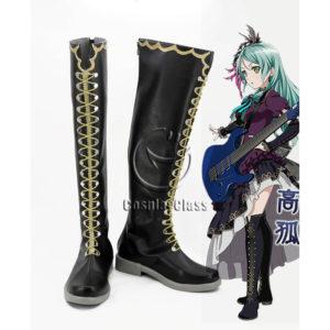 cw12358 BanG Dream! Shirokane Rinko Cosplay Boots (1)