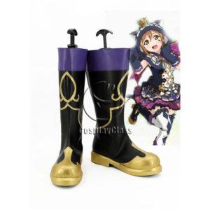 cw12361 LoveLive! Awakening Halloween Ruby Kurosawa Cosplay Boots (1)