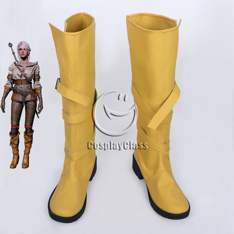The Witcher 3: Wild Hunt Cirilla Fiona Elen Riannon Ciri Cosplay Boots