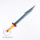 cw12768 Marvel Thor Ragnarok Thor Odinson Double Knife Cosplay Props (2)