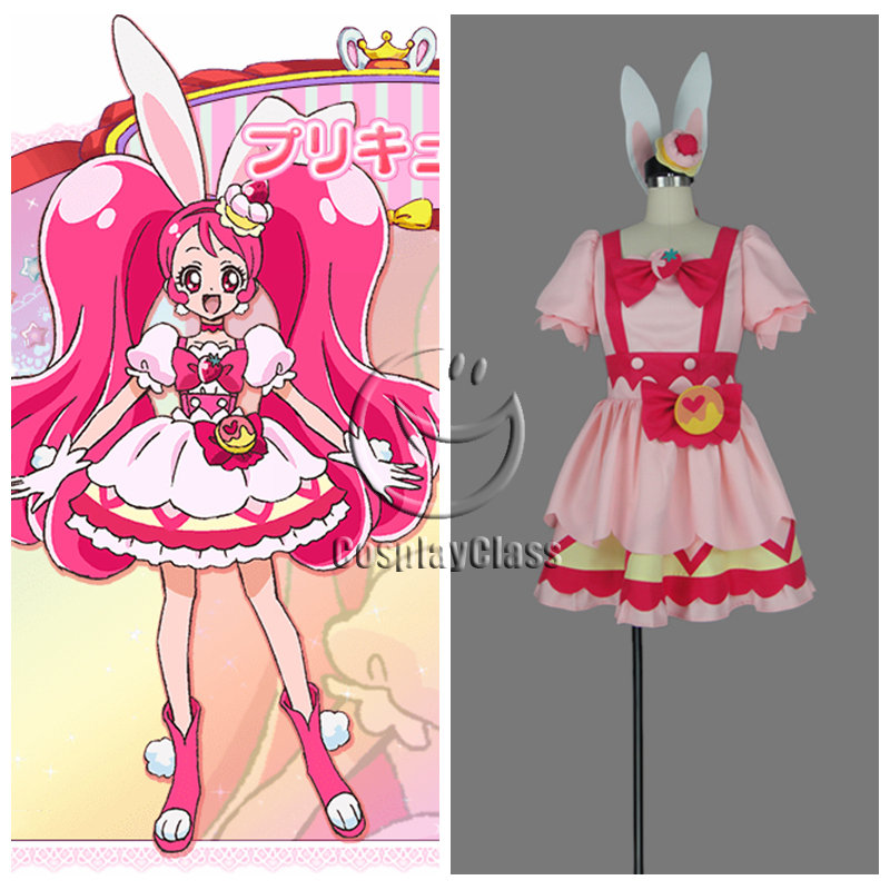 kirakira pretty cure a la mode usami ichika cure whip cosplay costume cosplayclass. Black Bedroom Furniture Sets. Home Design Ideas