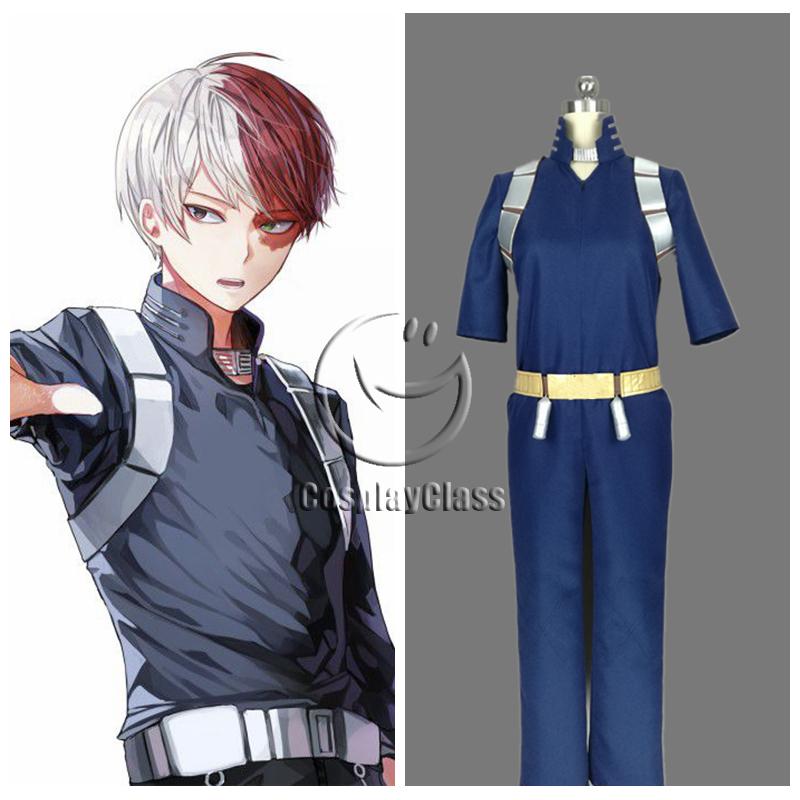 My Hero Academia Todoroki Shouto Cosplay Costume(New ...