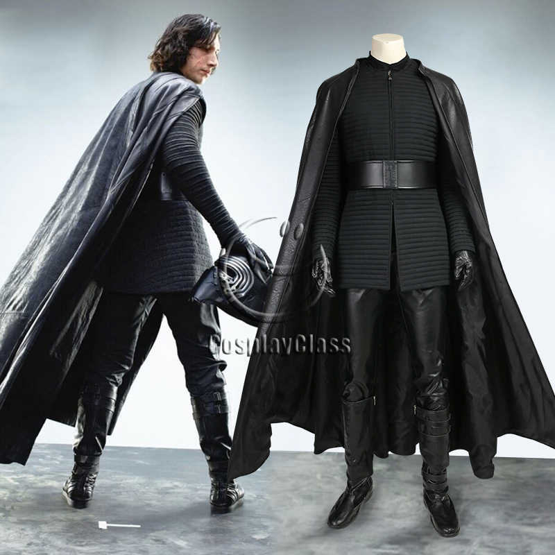 Star Wars The Last Jedi Kylo Ren Ben Solo Cosplay Costume Cosplayclass