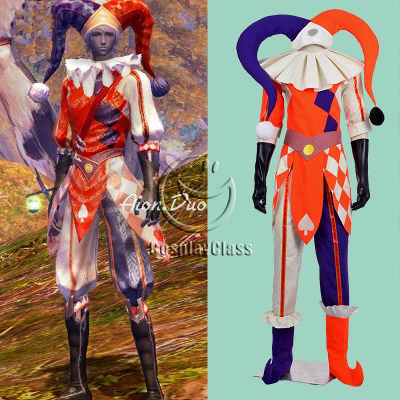 Aion Cosplay aion clown cosplay costume – cosplayclass
