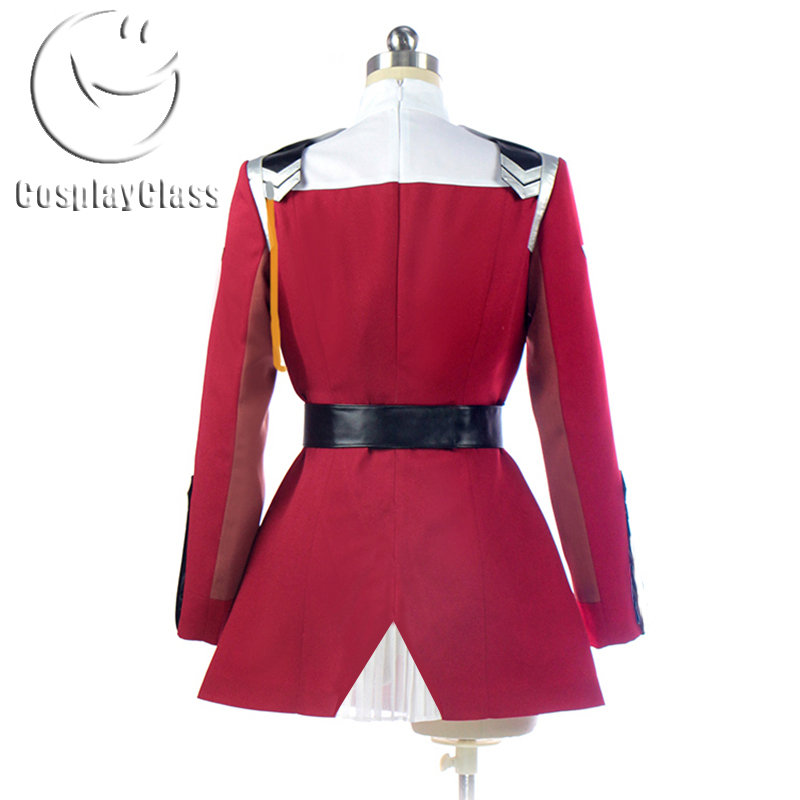 Darling in the Franxx Code 002 Zero Two Cosplay Costume ...