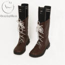 cw12939 The Ancient Magus` Bride Mahou Tsukai no Yome Hatori Chise Cosplay Boots (4)