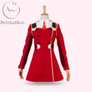 Darling in the Franxx Code 002 Zero Two Cosplay Costume (Full Set) cos11836 (2)
