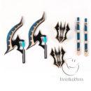 Fate Grand Order FGO Berserker Darius III Ax Cosplay Weapon Props cw13040 (2)