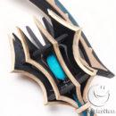 Fate Grand Order FGO Berserker Darius III Ax Cosplay Weapon Props cw13040 (6)