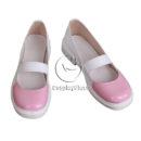 cw13019 Doki Doki Literature Club! Monika Cosplay Shoes (2)