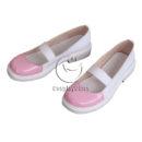 cw13019 Doki Doki Literature Club! Monika Cosplay Shoes (3)