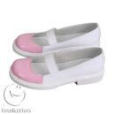 cw13019 Doki Doki Literature Club! Monika Cosplay Shoes (4)