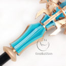 cw13036 DISSIDIA FINAL FANTASY NT Materia Cane Cosplay Weapon Props (5)
