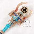 cw13036 DISSIDIA FINAL FANTASY NT Materia Cane Cosplay Weapon Props (7)