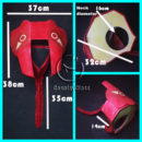 Darling in the Franxx Code 002 Zero Two Cosplay Props cw13074 (4)